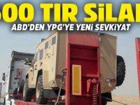 ABD'nin YPG/PKK bölgesine 500  TIR SİLAH sevkiyatı