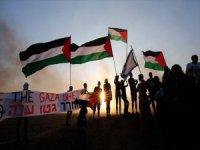 İsrailli Aktivistlerden Gazze'ye Destek Gösterisi
