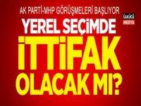Ak Parti ve MHP Yerel İttifak Görüşmelerine Başlayacak