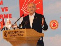 Kılıçdaroğlu: Türkiye'de Hukukun Olmasını İstiyoruz