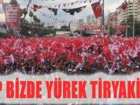 MHP BİZDE YÜREK TİRYAKİLİĞİ...