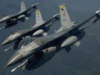 Irak'ın Kuzeyindeki Zap Bölgesine Hava Harekatı