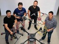 Genç Girişimcilerden 'Hayatı Kolaylaştıran Drone'lar