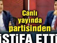 Av. Oğuzhan Türk, İYİ Parti'den istifa etti...