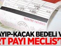 MHP'den flaş teklif: Kayıp-kaçak bedeli ve TRT payı Meclis'te
