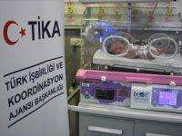 TİKA'dan Filistin'deki Hastaneye Kuvöz Desteği