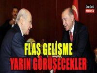Bahçeli ile Erdoğan Yarın Görüşecekler
