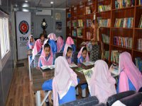 TİKA'dan Pakistan'daki Kız Okuluna Kütüphane ve Park