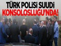 Türk Heyeti Suudi Arabistan Başkonsolosluğunda