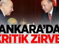 Son dakika... Cumhurbaşkanı Erdoğan ile MHP lideri Bahçeli'nin görüşmesi başladı