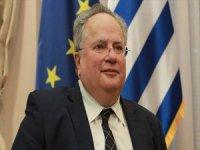 Yunanistan Dışişleri Bakanı Kocias İstifa Etti