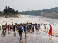 Pamukkale 9 Ayda Ziyaretçi Rekoru Kırdı