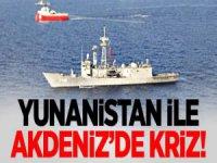 Yunanistan ile Kriz: Yunan Savaş Gemisinden Taciz...