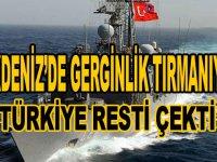 Akdeniz'de gerginlik tırmanıyor! Türkiye restini çekti