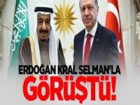 Cumhurbaşkanı Erdoğan Kral Selman Görüştü