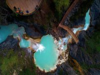 Mavigöl ve Kuzalan Travertenlerinde Sonbahar Güzelliği
