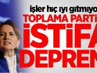 İŞLER HİÇ İYİ GİTMİYOR! TOPLAMA PARTİDE İSTİFA DEPREMİ