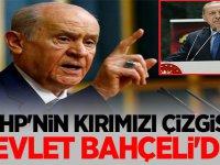 MHP'den AKP'ye bir tepki daha: MHP'nin kırmızı çizgisi Devlet Bahçeli'dir!