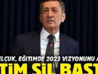 Bakan Ziya Selçuk, Eğitimde 2023 Vizyon Belgesi'ni açıkladı..