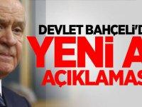MHP lideri Devlet Bahçeli'den yeni af açıklaması