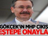 Gökçek'in MHP çıkışı Beştepe onaylı!