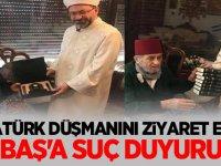 Diyanet İşleri Başkanı Ali Erbaş'a suç duyurusu!