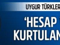 Uygur Türkleri Çin'i protesto etti