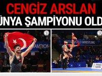 Cengiz Arslan, Dünya Şampiyonu oldu