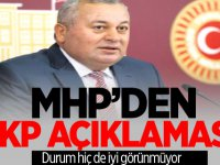 MHP'den AKP Açıklaması!