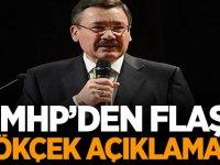 MHP'den Flaş Melih Gökçek açıklaması