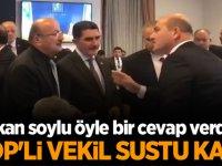Süleyman Soylu'dan HDP'li vekile çok sert cevap!