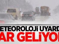 Meteoroloji'den son dakika kar ve sağanak yağış uyarısı!