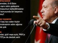 Erdoğan: O Çok Sevdiğiniz Teröristler Silahlarını Size Çevirecekler