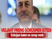 Prens Selman Erdoğan ile görüşmek isteyince ne cevap aldı?