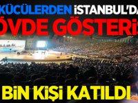 Ülkücülerden İstanbul'da gövde gösterisi