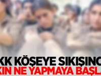 PKK köşeye sıkışınca bakın ne yapmaya başladı!