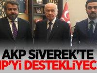 AKP Siverek'te MHP'li Fatih Bucak'ı destekliyecek