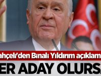 BAHÇELİ'DEN YILDIRIM AÇIKLAMASI: ADAY OLURSA...