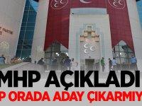MHP açıkladı: AKP orada aday çıkarmıyor
