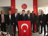 MHP Giresun'da Belediye Başkan Adaylarını Tanıttı