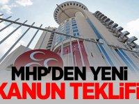 MHP'den yeni kanun teklifi