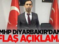 MHP Diyarbakır'dan flaş açıklama