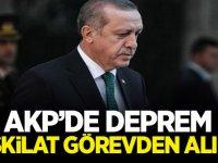 AKP'de deprem: Teşkilat görevden alındı