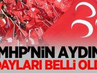 MHP'nin Aydın Adayları Belli Oldu