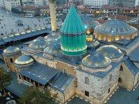 Mevlana Müzesi'nin Turkuaz Kubbesi Yenileniyor