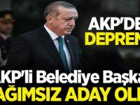 AKP'li Belediye Başkanı oy oranını açıklayıp bağımsız aday oldu