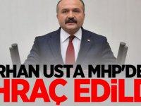 Son dakika: Erhan Usta MHP'den ihraç edildi