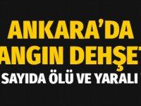 Ankara'da korkunç yangın: Suriye uyruklu 5 işçi hayatını kaybetti