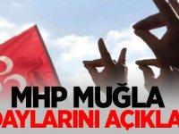 MHP Muğla adaylarını açıkladı