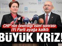 CHP- İYİ PARTİ ittifakında derin çatlak!